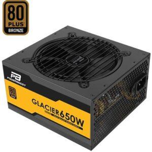 POWERBOOST GLACIER 650WATT 80+ BRONZE Yarı Modüler 12cm Fanlı ATX PSU