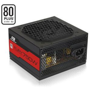 POWERBOOST FURY 750WATT 80+ 12cm Fanlı ATX PSU