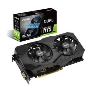 Asus DUAL RTX2060 6GB 192Bit GDDR6 DUAL-RTX2060-6G-EVO
