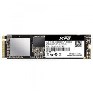 Adata XPG SX8200PRO 512 GB NVMe 3500/2300Mb SSD SX8200PNP-512GT-C