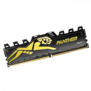 APACER PANTHER 8GB DDR4 3000MHZ BLACK GOLD RAM