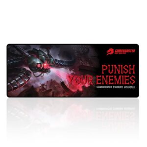 GAMEBOOSTER PUNİSHER XL GAMİNG MOUSE PAD 740x300mm