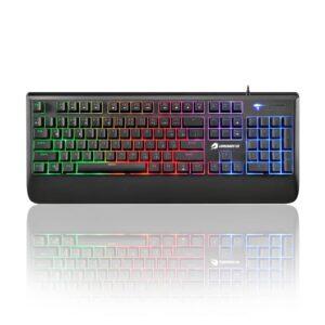 GameBooster G4 Pulsefire Rainbow Aydınlatmalı yarı mekanik Klavye