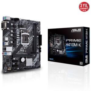 ASUS PRIME H410M-K DDR4 2SLOT LGA1200 ANAKART