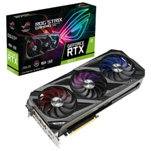 ASUS GEFORCE ROG-STRIX-RTX3070TI-8G-GAMING 8GB GDDR6X 256bit  OC 2xHDMI 3xDP RGB EKRAN KARTI