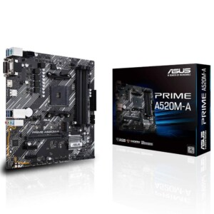 ASUS PRIME A520M-A DDR4 2 SLOT AM4 ANAKART