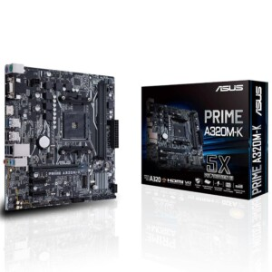 ASUS PRIME A320M-K DDR4 2 SLOT AM4 ANAKART