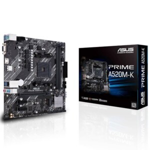 ASUS PRIME A520M-K DDR4 2 SLOT AM4 ANAKART