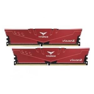 T-FORCE 16GB (2X8GB) DDR4 3200MHZ VULCAN Z RED RAM TLZRD416G3200HC16CDC01